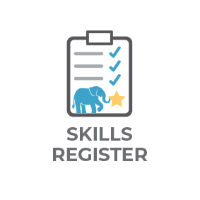 skills register icon
