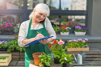 photo of Senior florist